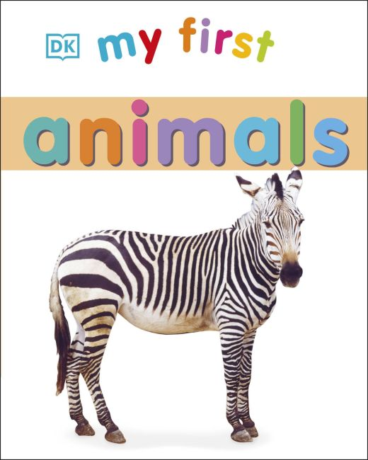 Board book cover of My First Animals