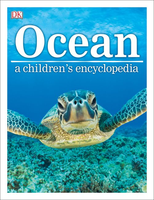 Hardback cover of Ocean A Children's Encyclopedia