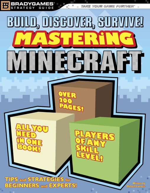 eBook cover of Build, Discover, Survive! Mastering Minecraft Strategy Guide