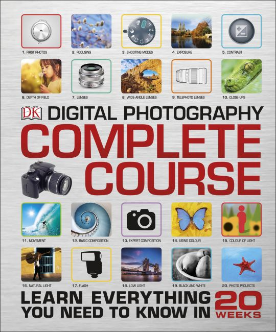 Hardback cover of Digital Photography Complete Course