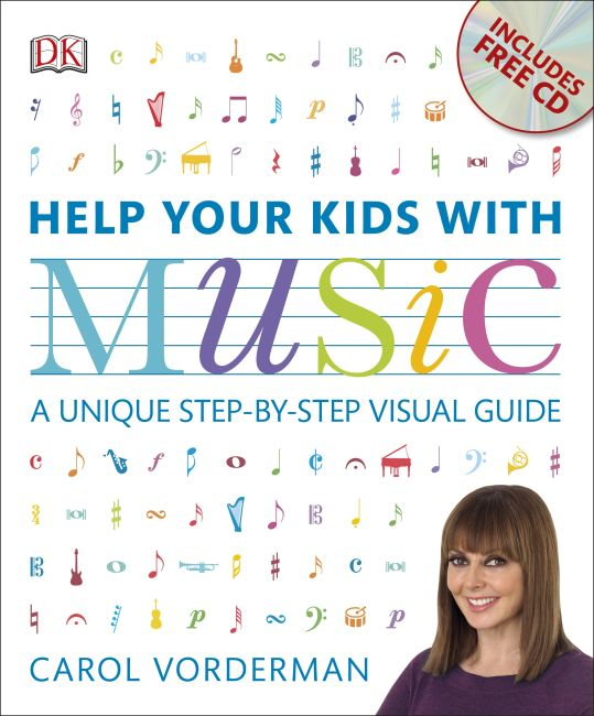 Flexibound cover of Help Your Kids with Music (CD Included)