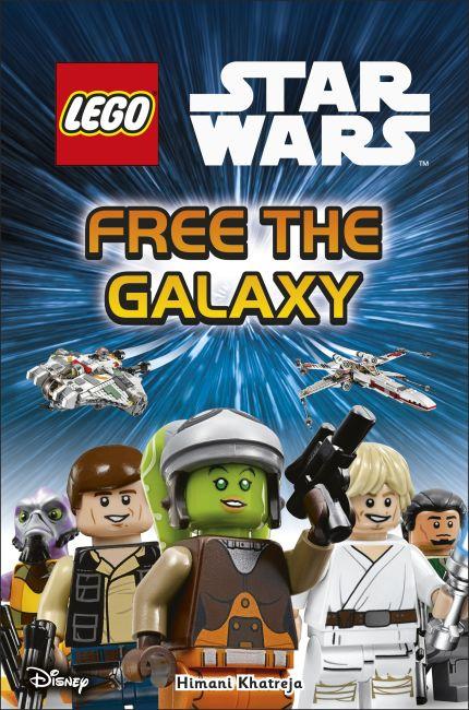 Hardback cover of LEGO Star Wars Free the Galaxy