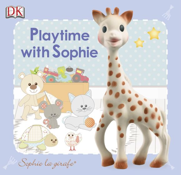 eBook cover of Sophie La Girafe Playtime with Sophie