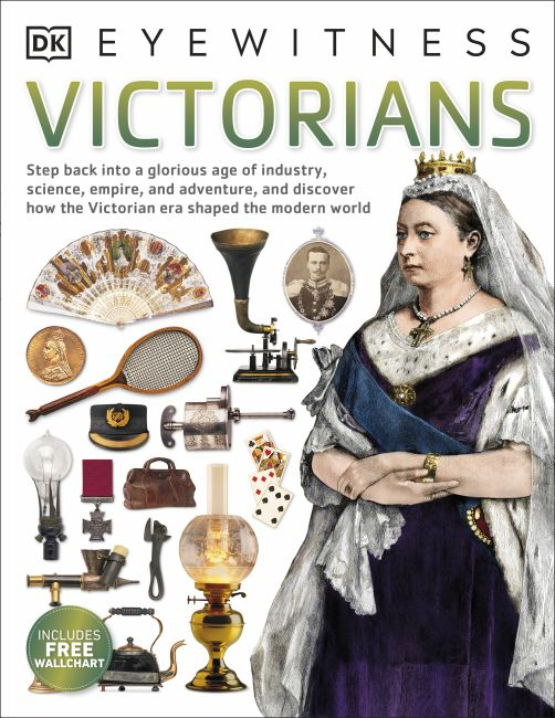 Paperback cover of Victorians