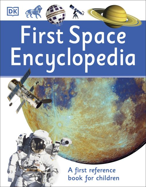 Paperback cover of First Space Encyclopedia