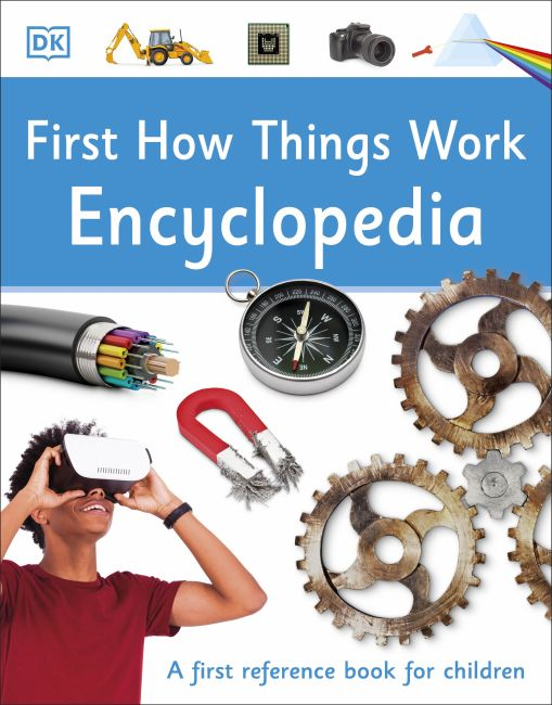Paperback cover of First How Things Work Encyclopedia