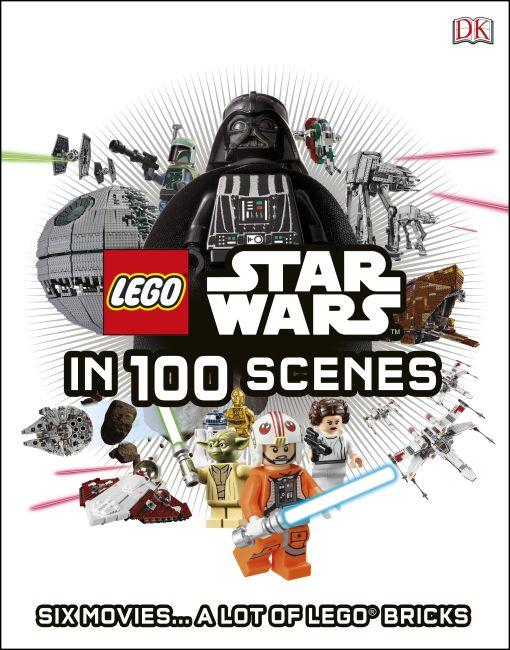 Hardback cover of LEGO® Star Wars in 100 Scenes