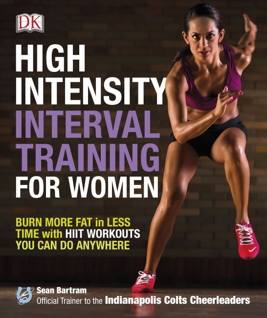 Paperback cover of High-Intensity Interval Training for Women
