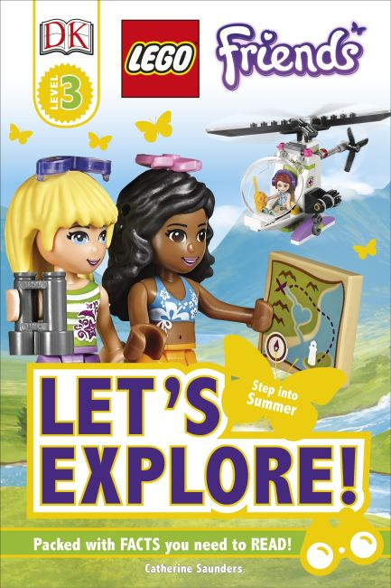 Hardback cover of LEGO® Friends Let's Explore!