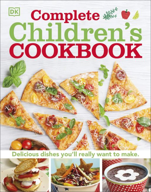 Hardback cover of Complete Children's Cookbook