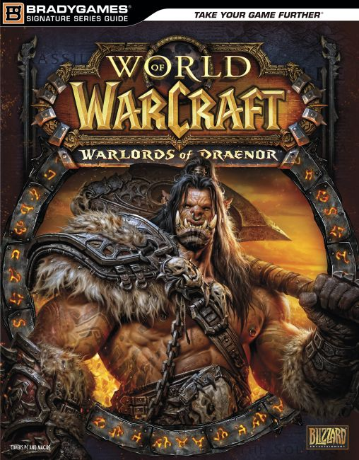 eBook cover of World of Warcraft Warlords of Draenor Signature Series Strategy Guide
