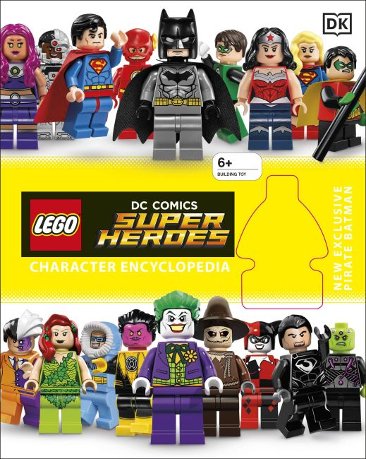 Hardback cover of LEGO DC Super Heroes Character Encyclopedia