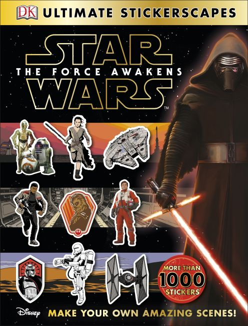 Paperback cover of Star Wars™ The Force Awakens Ultimate Stickerscapes