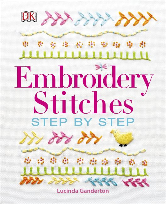 Hardback cover of Embroidery Stitches Step-by-Step
