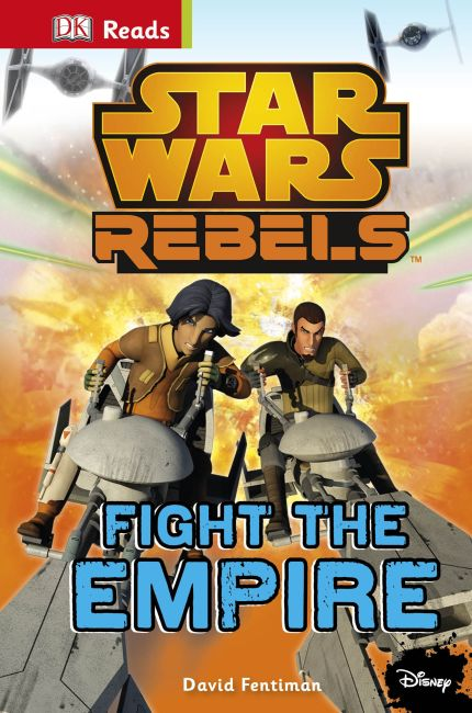 eBook cover of Star Wars Rebels Fight The Empire!