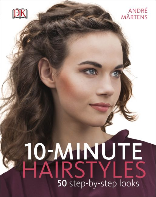 Hardback cover of 10-Minute Hairstyles