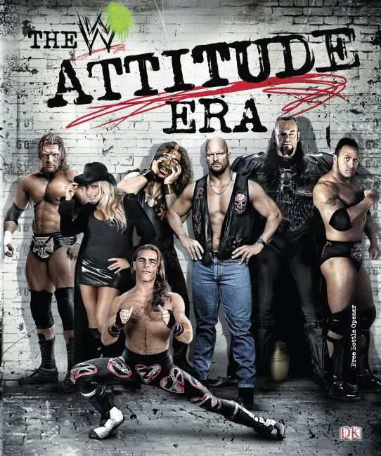 eBook cover of WWE The Attitude Era