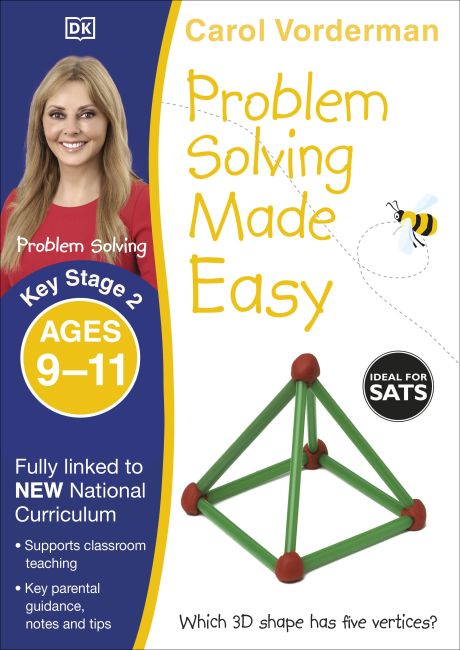 Paperback cover of Problem Solving Made Easy Ages 9-11 Key Stage 2