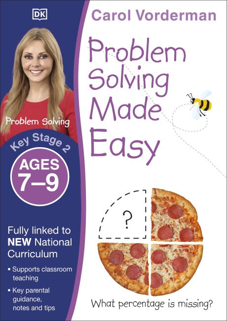 Paperback cover of Problem Solving Made Easy, Ages 7-9 (Key Stage 2)