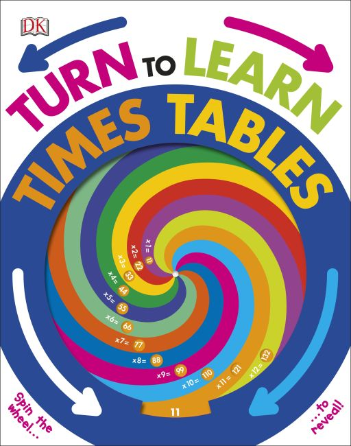 Board book cover of Turn to Learn Times Tables