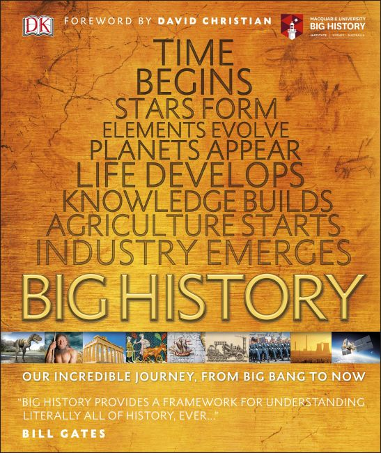 Hardback cover of Big History