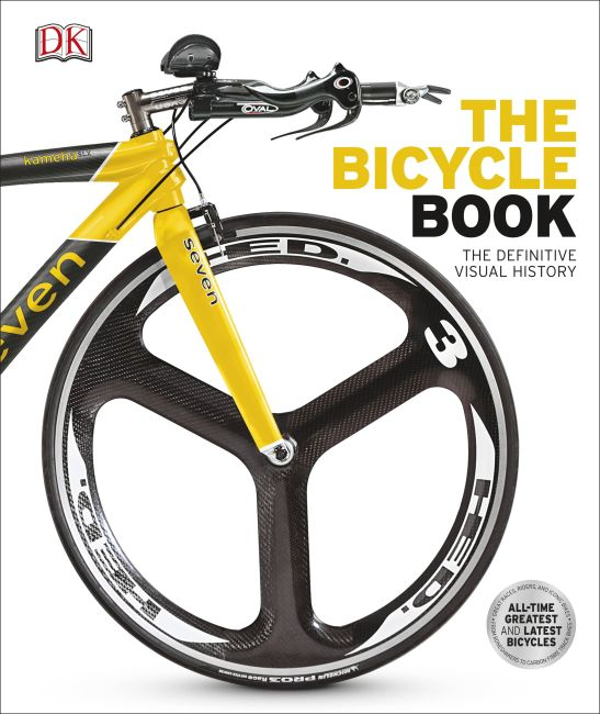 Hardback cover of The Bicycle Book