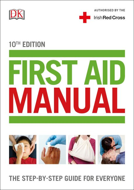 Flexibound cover of First Aid Manual (Irish edition)