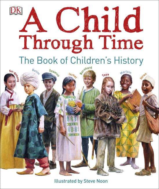 Hardback cover of A Child Through Time