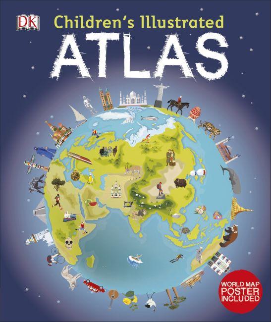 Bìa cứng của Atlas Minh họa cho Trẻ em