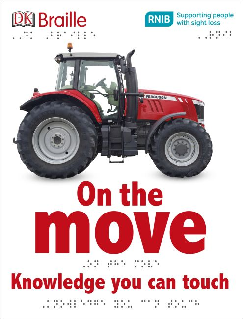 Hardback cover of DK Braille On the Move