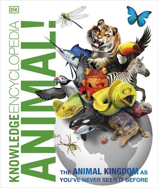 Hardback cover of Knowledge Encyclopedia Animal!