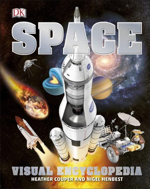 Bìa cứng của bách khoa toàn thư không gian