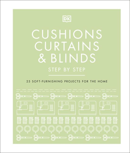 Hardback cover of Cushions, Curtains and Blinds Step by Step