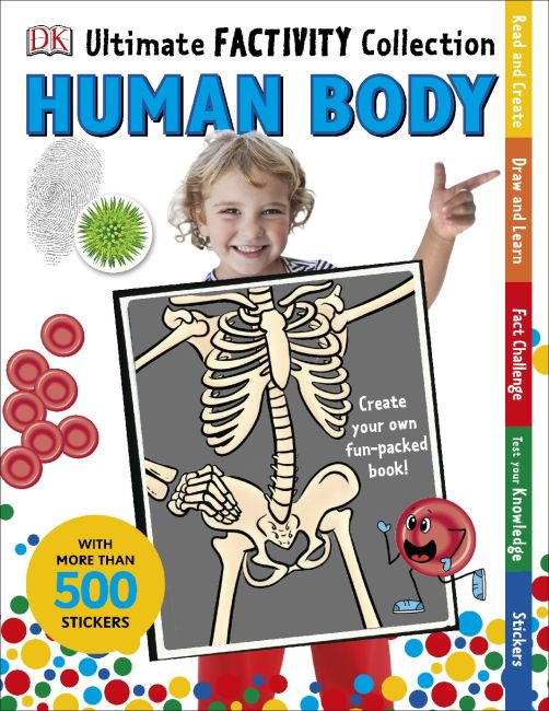 Paperback cover of Human Body Ultimate Factivity Collection