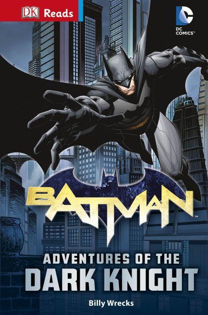 Hardback cover of DC Comics Batman Adventures of the Dark Knight