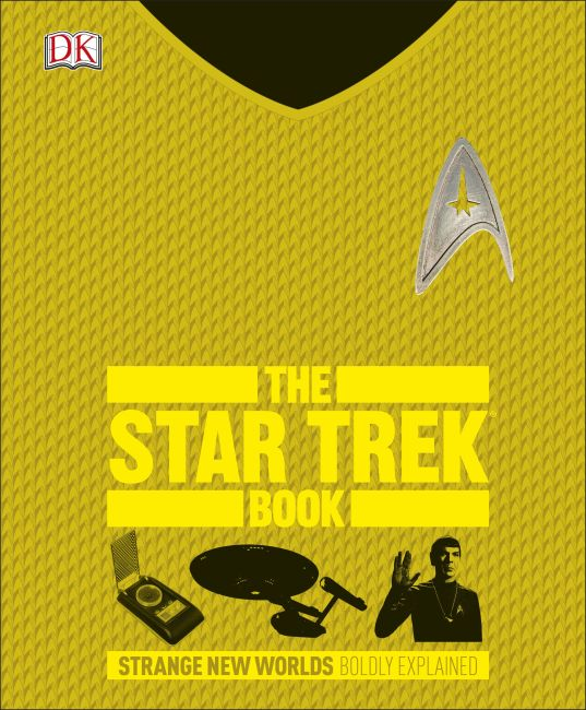 Hardback cover of The Star Trek Book