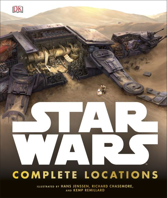 Hardback cover of Star Wars Complete Locations Updated Edition