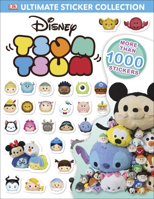 Paperback cover of Disney Tsum Tsum Ultimate Sticker Collection