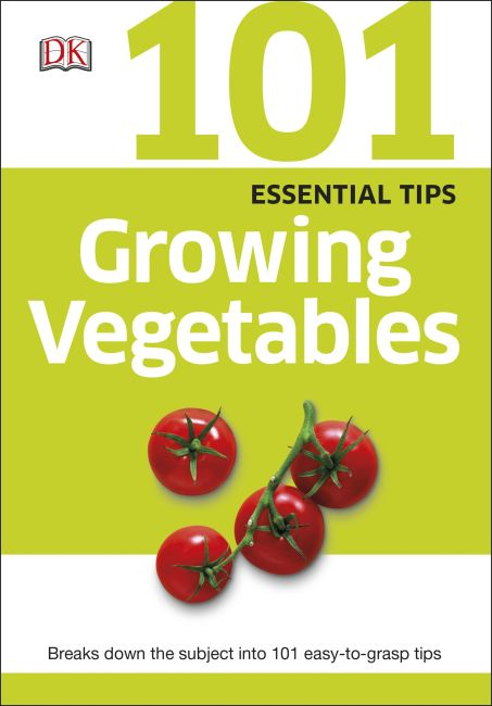eBook cover of 101 Essential Tips Growing Vegetables