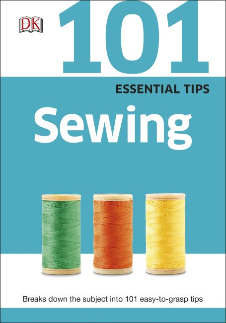 eBook cover of 101 Essential Tips Sewing