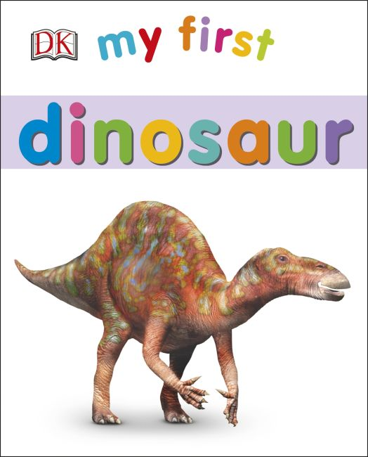 Board book cover of My First Dinosaur