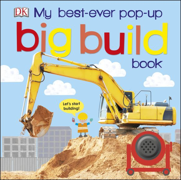 Board book cover of My Best-Ever Pop-Up Big Build Book