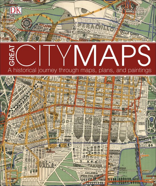 Hardback cover of Great City Maps