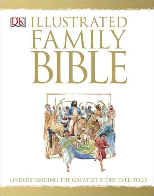 Hardback cover of The Illustrated Family Bible