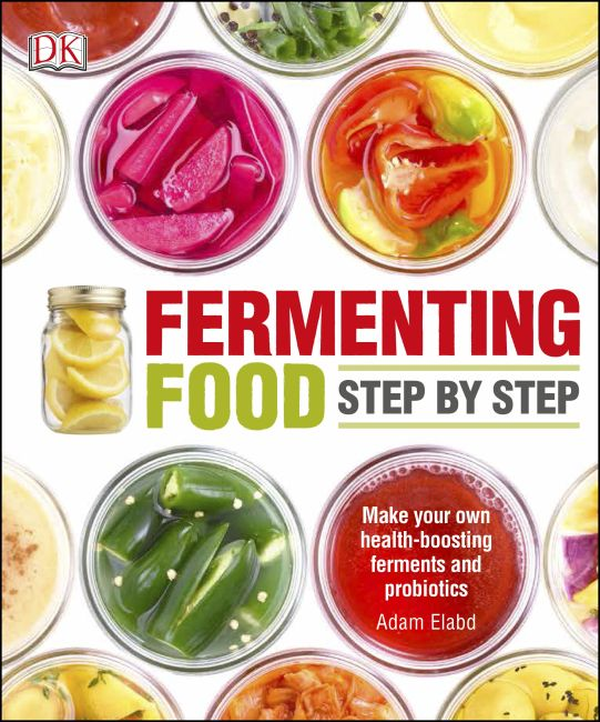 Paperback cover of Fermenting Foods Step-by-Step