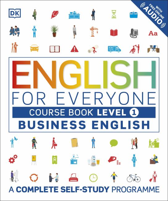 Flexibound cover of English for Everyone Business English Course Book Level 1