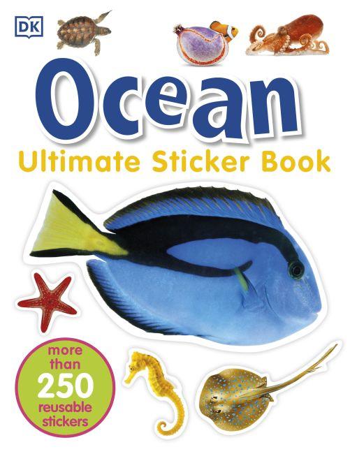 Paperback cover of Ocean Ultimate Sticker Book