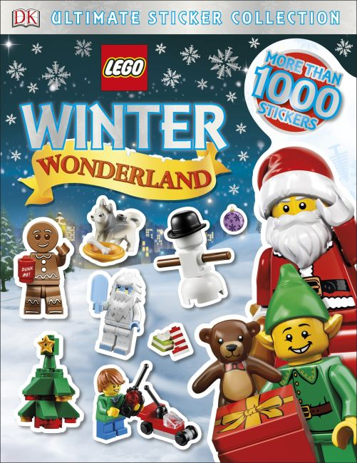 Paperback cover of LEGO Winter Wonderland Ultimate Sticker Collection