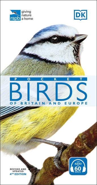 Paperback cover of RSPB Pocket Birds of Britain and Europe