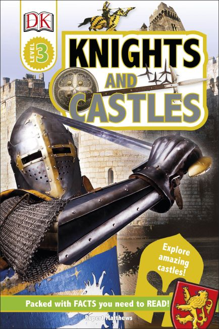 Hardback cover of Knights and Castles
